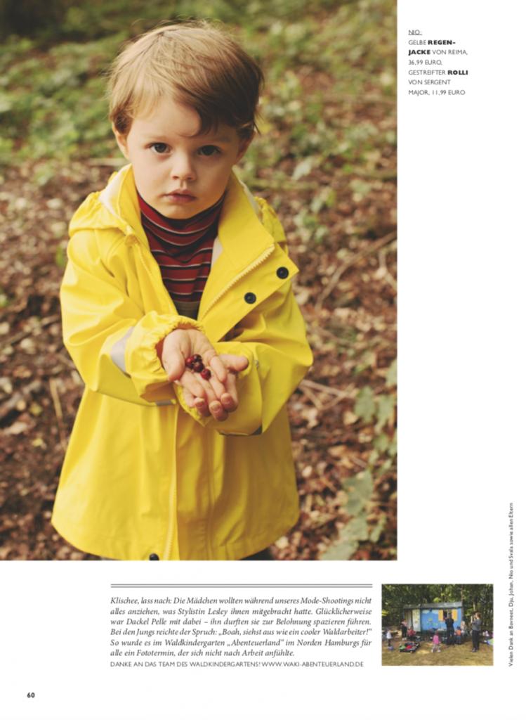 NIDO Modestrecke – Kinder – Styling – Lesley-Sevriens