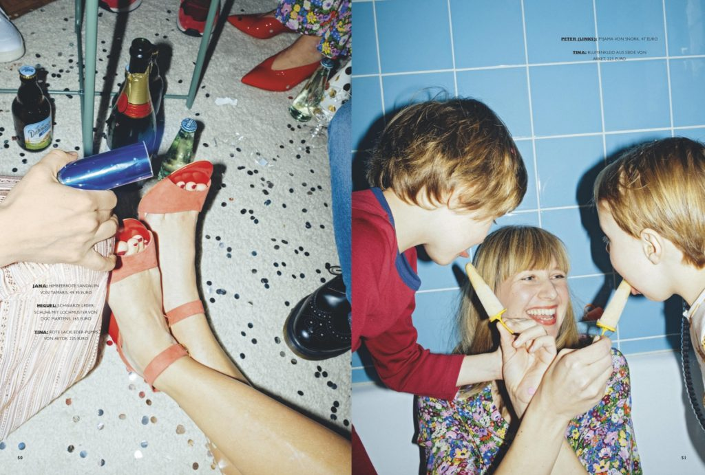 NIDO Modestrecke 10 Jahre Jubiläum Styling Lesley Sevriens
