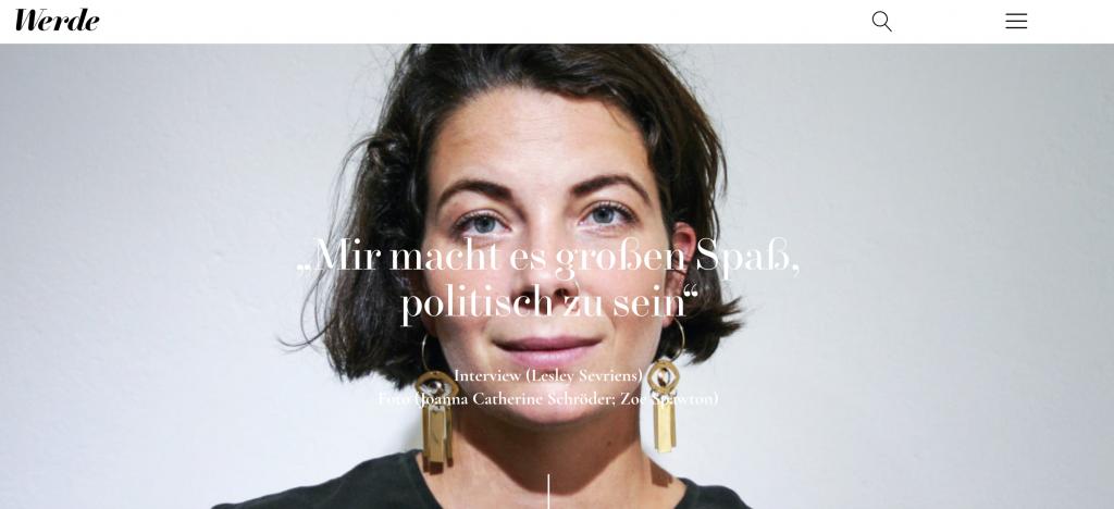 Lisa Jaspers von Folkdays - Werde Magazin Interview - Lesley Sevriens