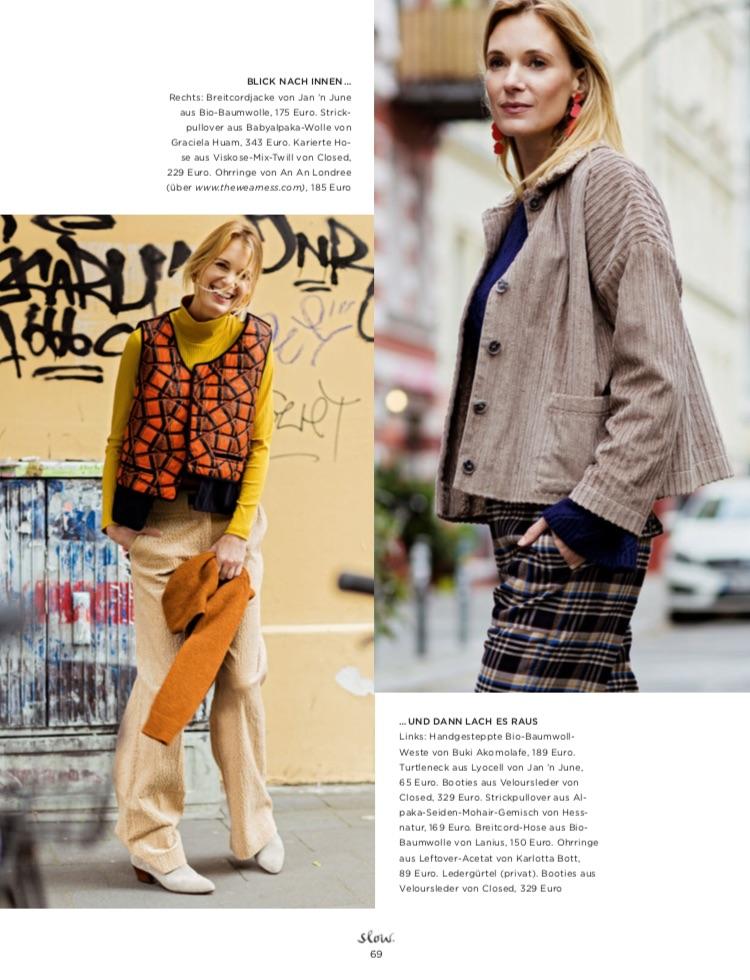Emotion-Slow-Fair-Fashion-Fridays-For-Future-Produktion-und-Styling-Lesley-Sevriens-Jan n June-Buki Akomolafe-Lanius-Hessnatur-Closed-Graciela Huam-Karlotta Bott