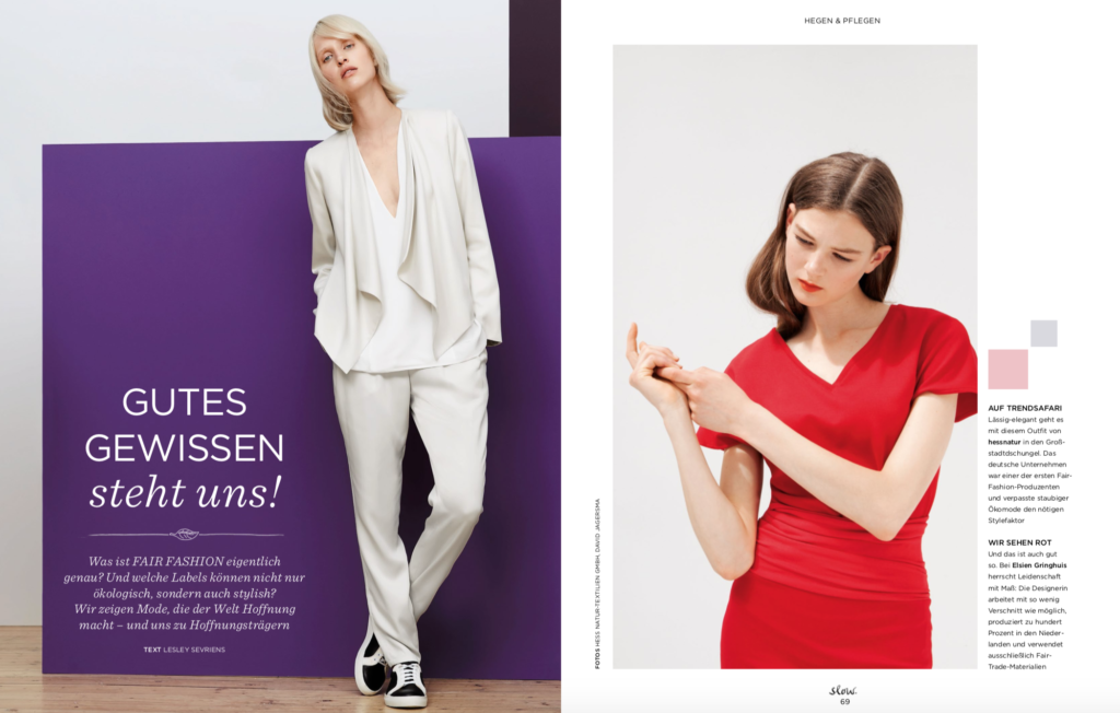 Fair Fashion Emotion Slow – Gutes Gewissen steht uns – Fashion Made Fair