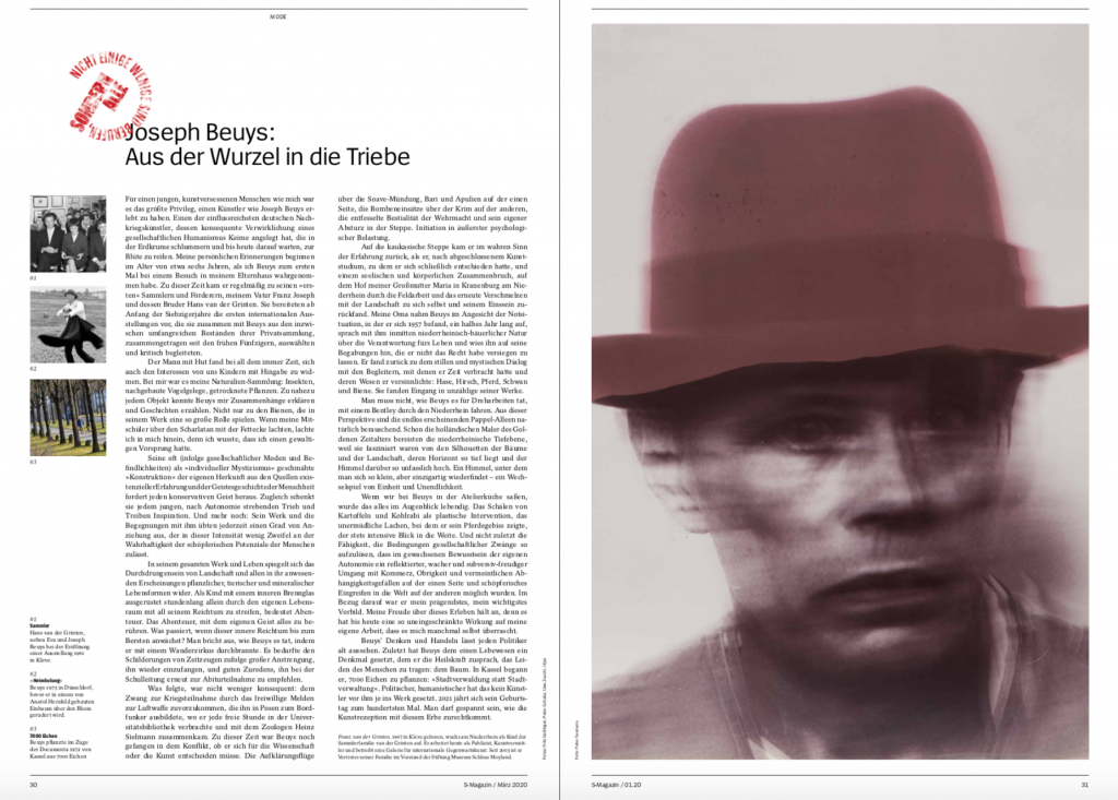 Beuys-Porträt-Peter-Sevriens-S-Magazin