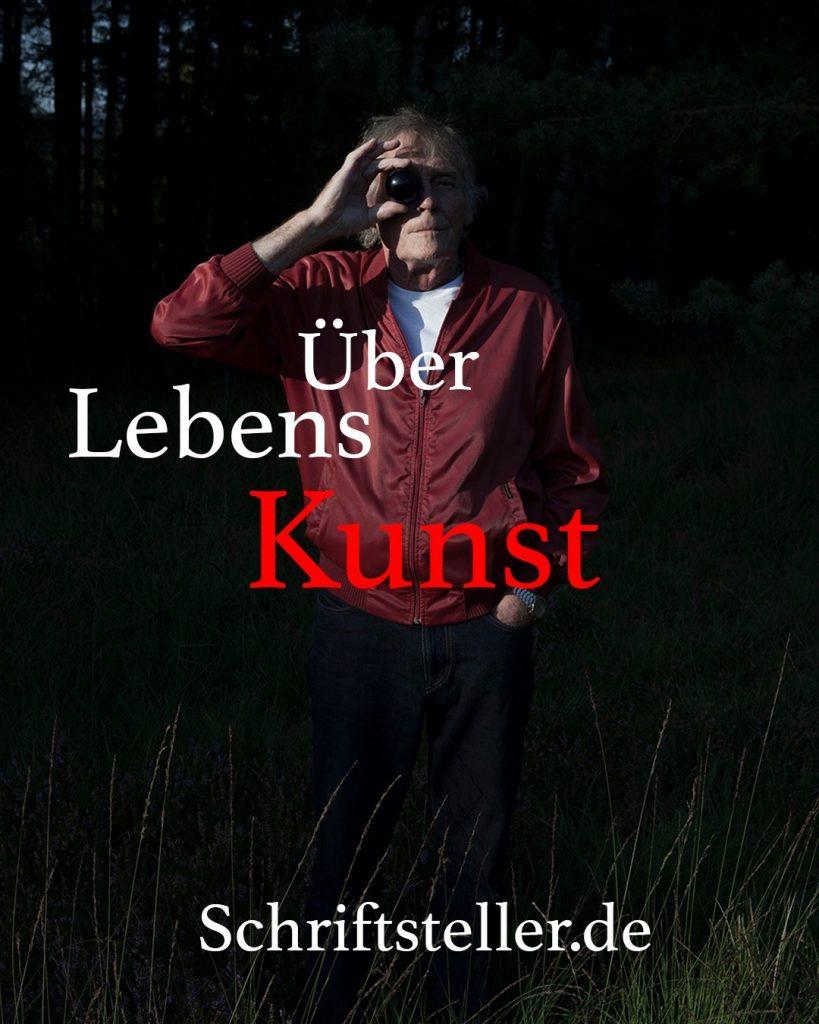 Schriftsteller.de Magazin-Über Lebenskunst-Text Lesley Sevriens - Foto René Fietzek