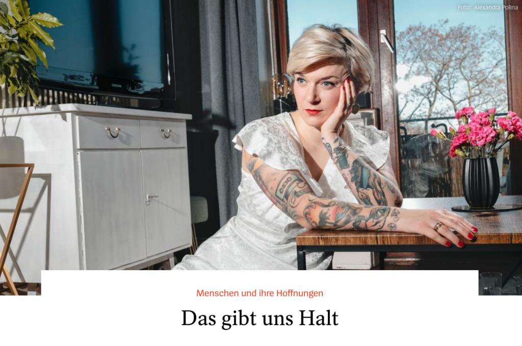 Spiegel.de-Portäts: Das gibt mir Halt - Lesley Sevriens - Fotos Alexandra Polina