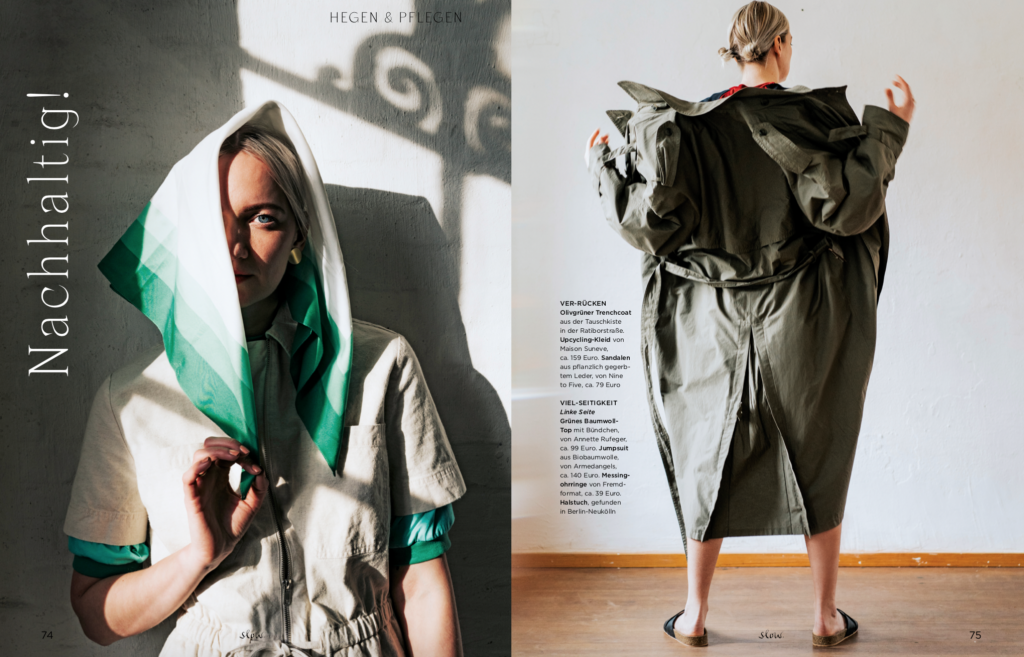 Emotion SLOW - Found on the street - Vintage und Eco Mode - Styling Lesley Sevriens 3