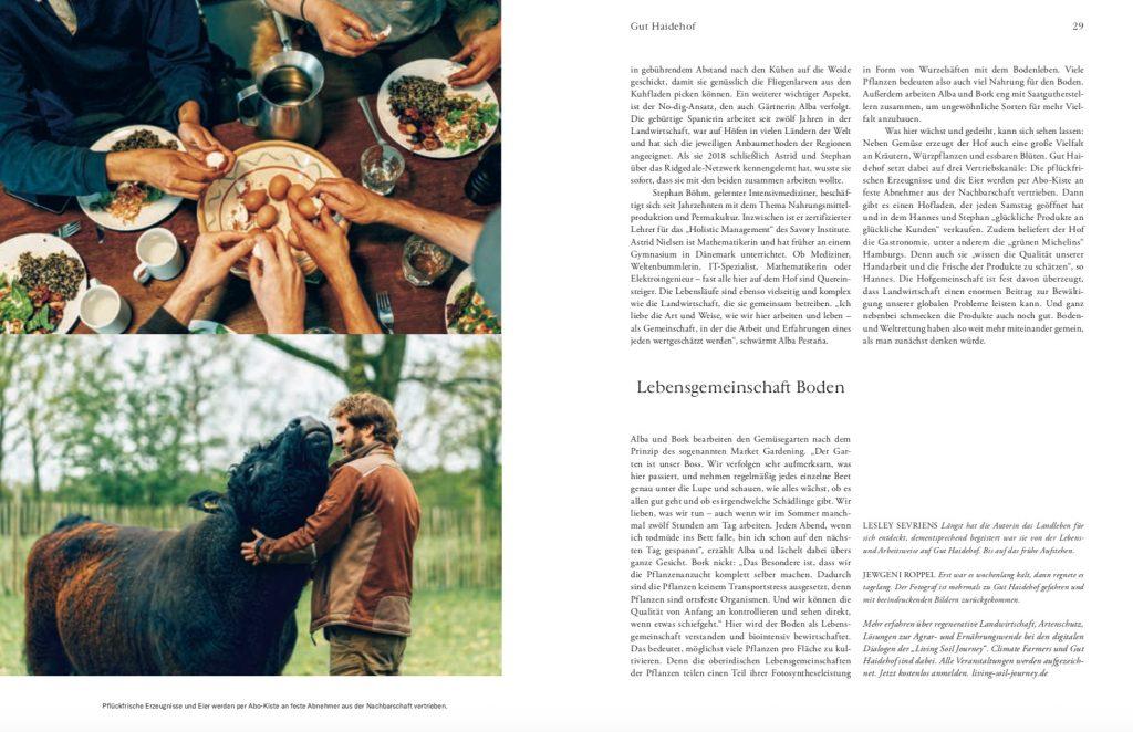 Werde Magazin: Reportage Biohof Gut Haidehof – Text Lesley Sevriens-11