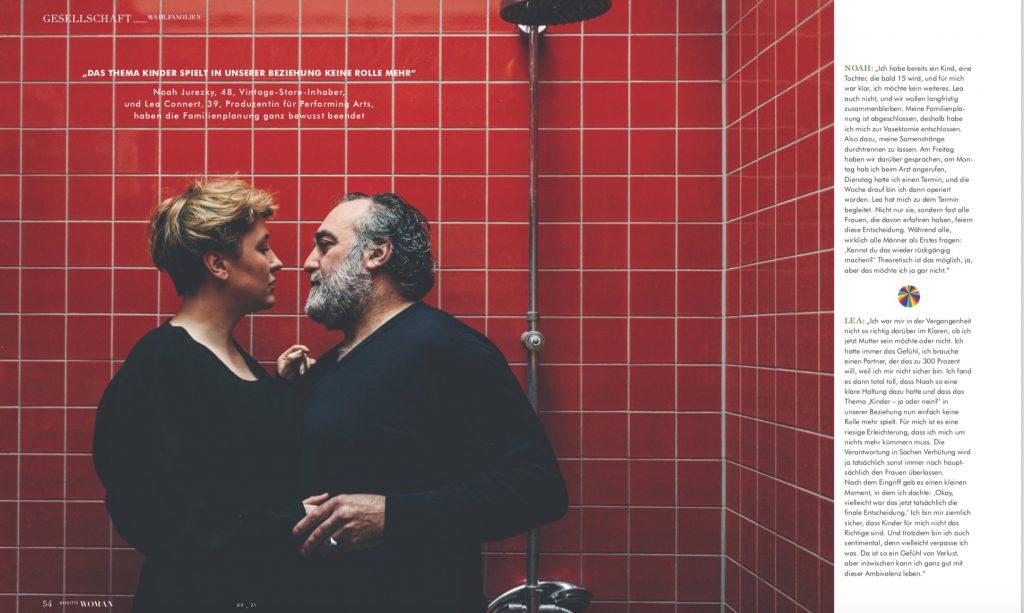 Brigitte Woman - Porträtserie Wie wir leben und lieben - Text Lesley Sevriens - Fotos Jewgeni Roppel-3